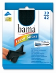Bama fresh socks zwart